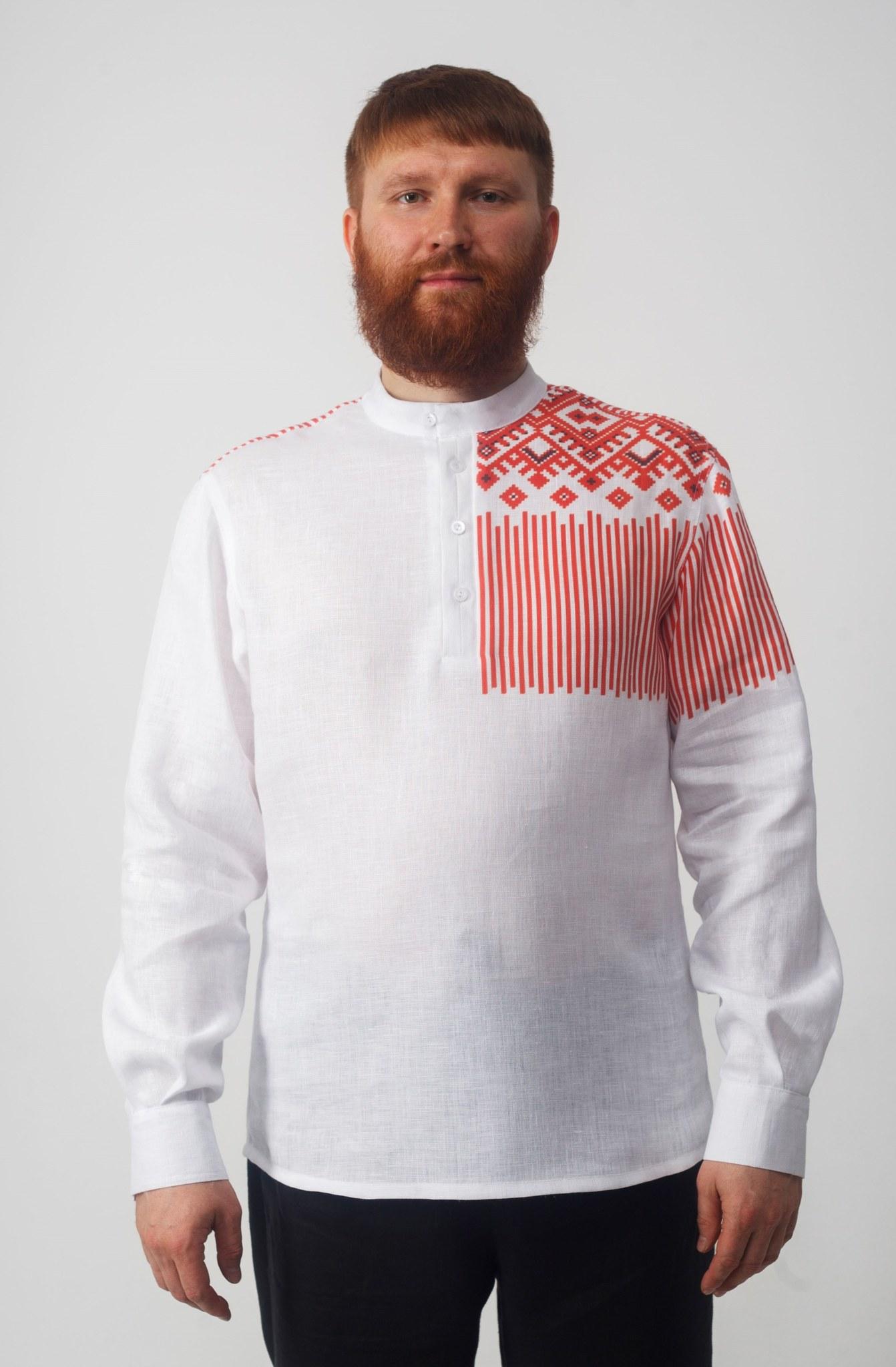 Рубашка мужская Русская