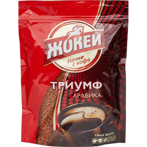 Кофе растворимый Жокей 150 г (пакет)