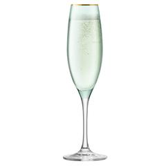 Набор из 2 бокалов флейт для шампанского Sorbet, 225 мл, зелёный, фото 4