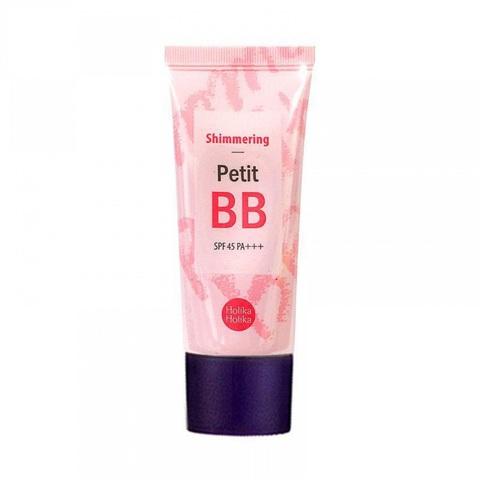 Holika Holika Petit BB Cream Shimmering ББ крем с жемчужной пудрой для сияния кожи