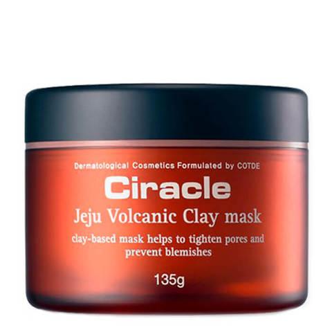 Маска c вулканическим пеплом и глиной Чеджу CIRACLE Jeju Volcanic Clay Mask