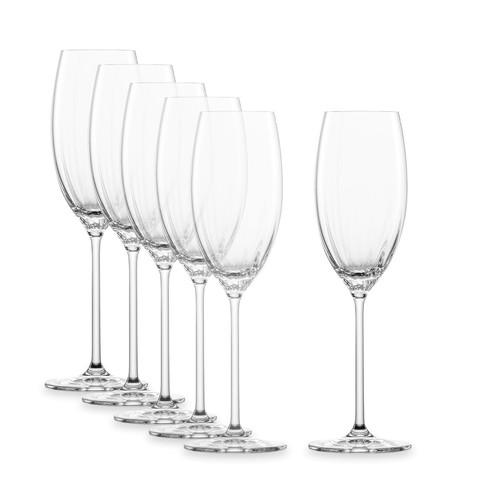 Набор фужеров для шампанского 288 мл, 6 шт, Prizma