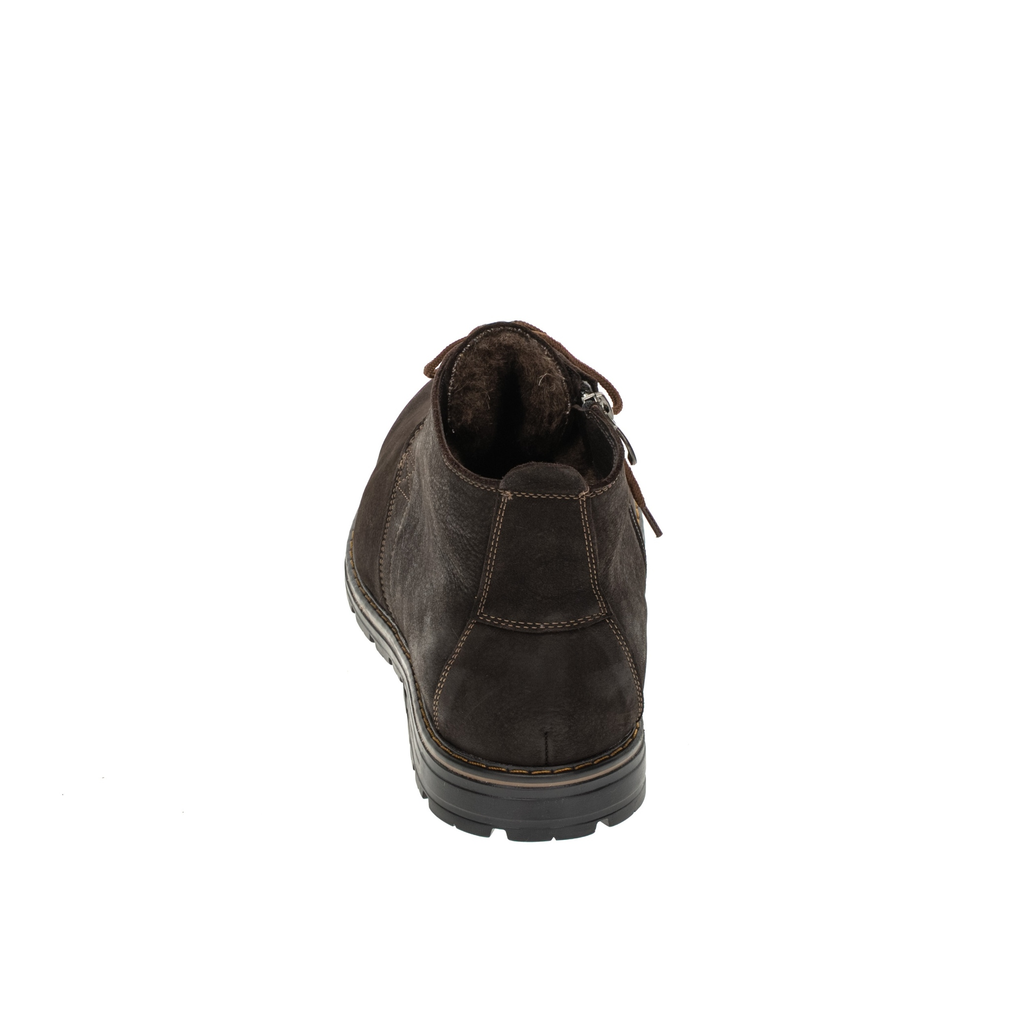 565483 ботинки мужские коричневые больших размеров марки Делфино