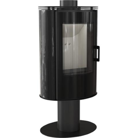 Печь-камин Kratki KOZA/AB/S/N/KAFEL (кафель белый, черный, красный) (8 кВт) Под заказ