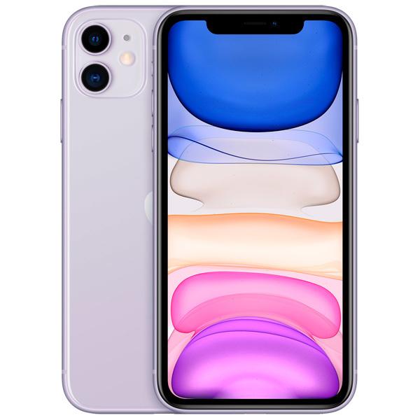 iPhone 11, 64 ГБ, фиолетовый