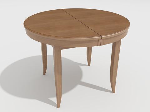 Стол обеденный Балет деревянный овальный дуб