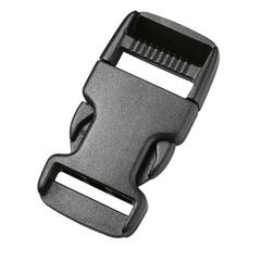 Фастекс Сплав 20 мм 1-05205/1-05206 (2 части) одна регулировка черный