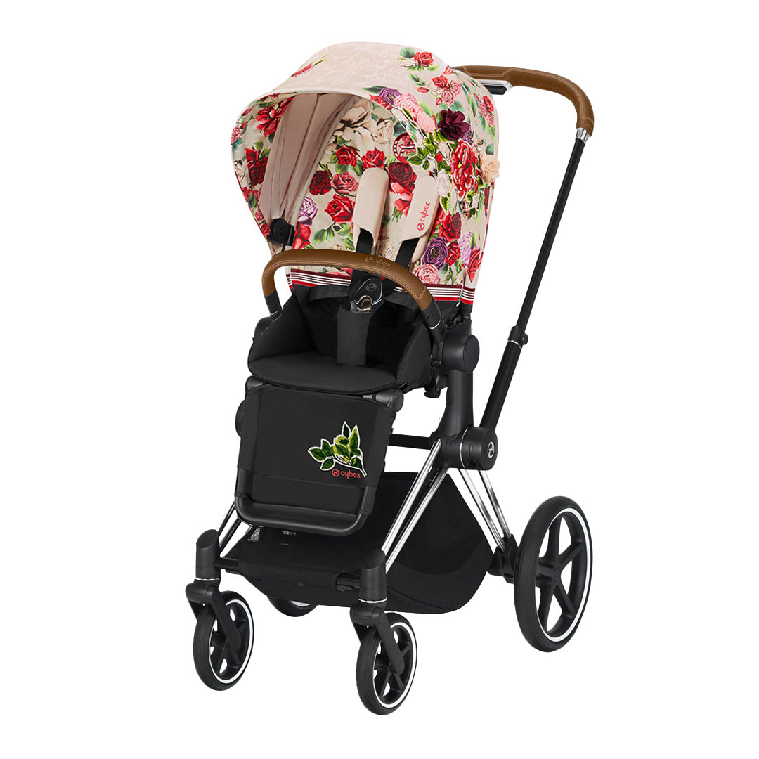 Цвета Cybex Priam прогулочная Прогулочная коляска Cybex Priam III FE Spring Blossom Light шасси Chrome cybex-priam-pushchair_springblossom-light_chrome.jpg