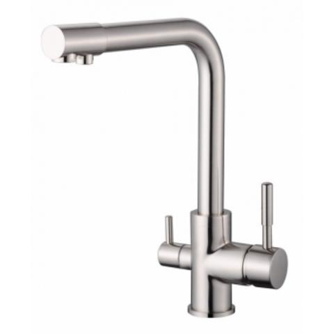 VIKO 5054, смеситель для кухни и под фильтр, цвет серебро Silver
