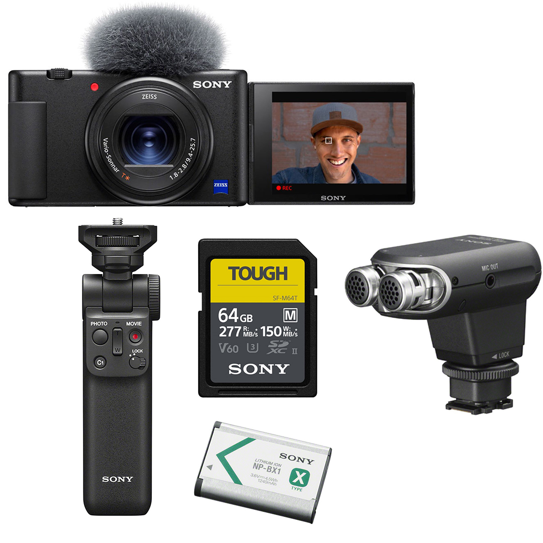 Камера Sony ZV-1 KIT PRO в фирменно интернет-магазин Sony Centre