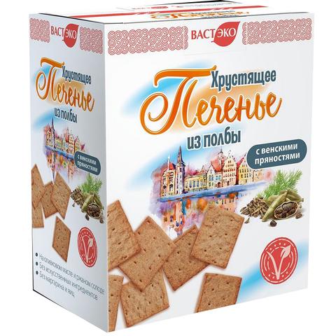 Печенье из полбы с венскими пряностями, 170 гр. (ВАСТЭКО)