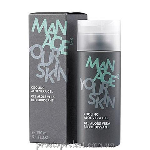 Dr. Spiller Manage Your Skin Cooling Aloe Vera Gel - Освежающий гель с экстрактом алоэ