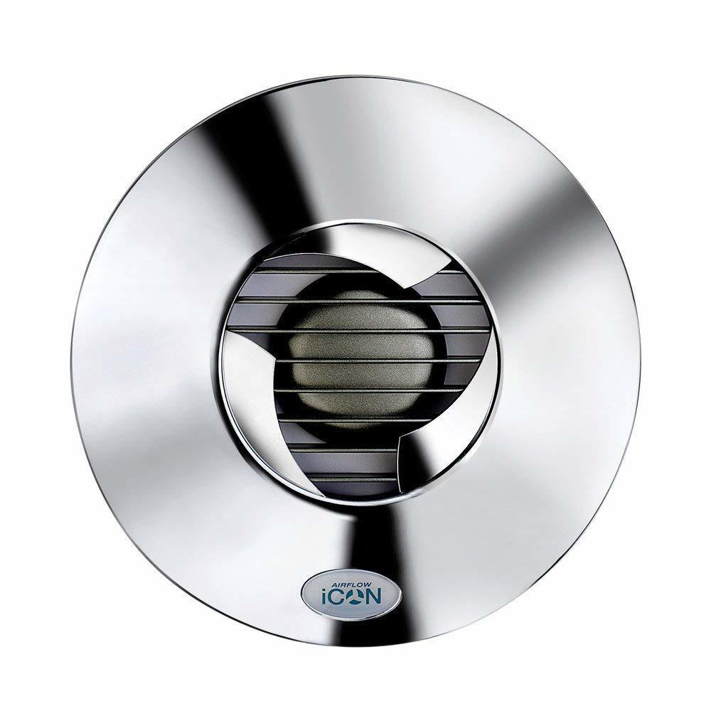 Airflow (Великобритания) Лицевая панель для вентилятора Airflow iCON 15 цвета Хром 017.jpg