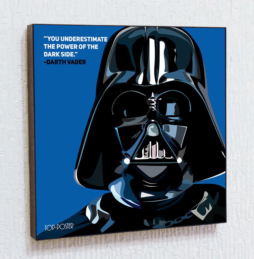 Картина ПОП-АРТ Дарт Вейдер | STAR WARS | Звездные Войны