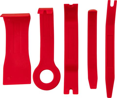 Набор приспособлений для демонтажа декоративных панелей салона автомобиля, 5 предметов