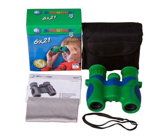 Бинокль детский Bresser Junior 6x21 - фото 2 - комплект поставки