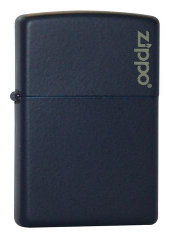 Зажигалка ZIPPO Classic Navy Matte™ с логотипом Zippo ZP-239ZL