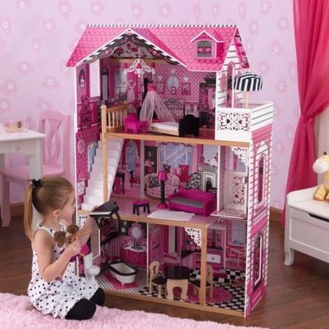 Кукольный домик для Барби KidKraft Амелия с мебелью 65093_KE
