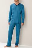 Легкая голубая пижама Zimmerli