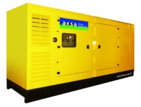 Дизельный генератор Aksa AD-220 в кожухе
