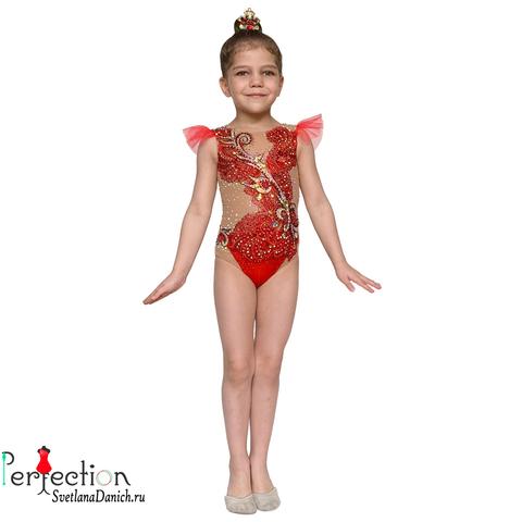 Купальник для выступлений по художественной гимнастики 00045