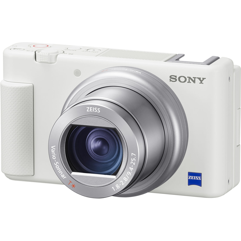 Sony ZV-1 белого цвета в официальном интернет-магазине