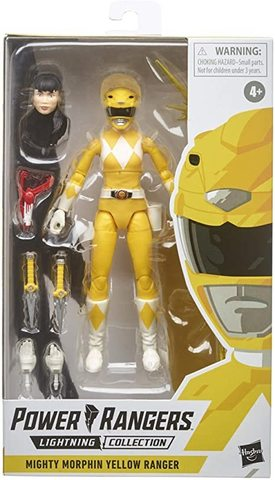 Power Rangers Lightning Collection – Mighty Morphin Yellow Ranger