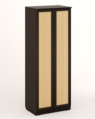 Шкаф ШК/Р-15  венге / дуб беленый