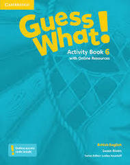 Guess What! Level 6 Activity Book with Online R...