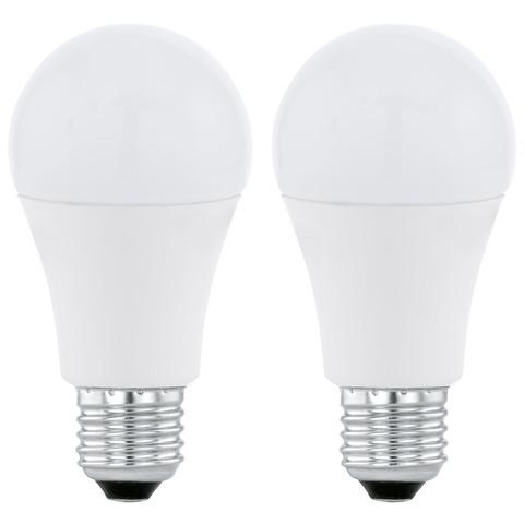 Лампа  Eglo LED LM-LED-E27 2х9,5W 806Lm 3000K A60 11483