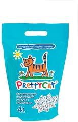"""Наполнитель для кошачьего туалета глиняный впитывающий с део-кристаллами """"Aroma Fruit"""", PrettyCat"""