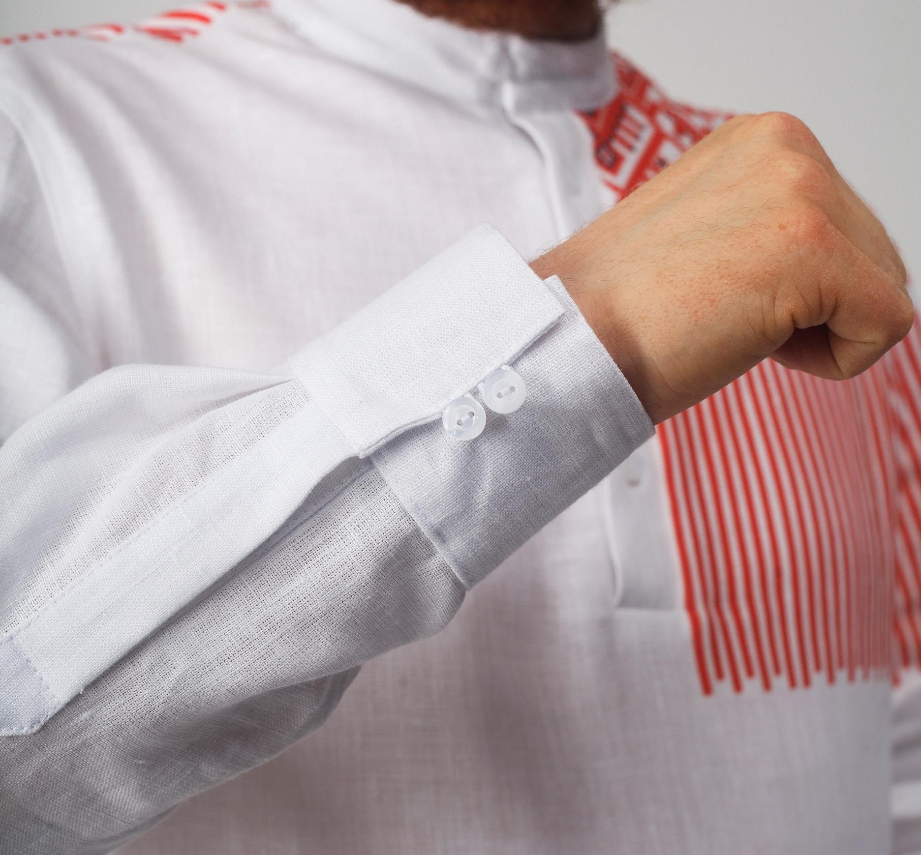 Рубашка мужская Русская манжета
