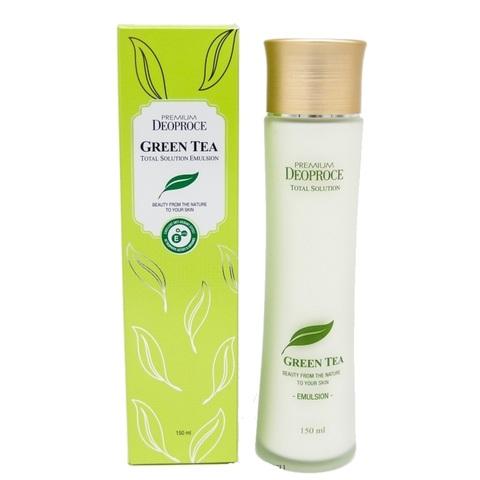 Deoproce Premium Green Tea Total Solution Emulsion эмульсия увлажняющая с экстрактом зеленого чая