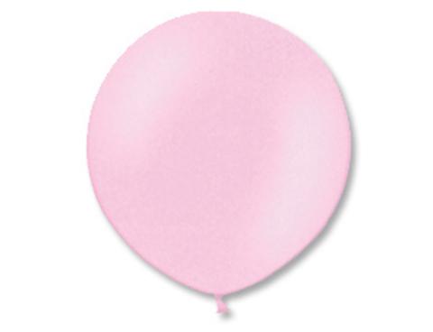 Большой воздушный шар розовый