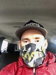 Многоразовая хлопковая маска для лица с камуфляжным принтом