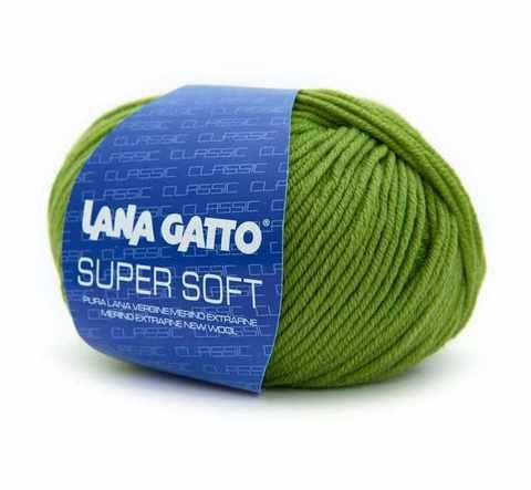 Пряжа Lana Gatto Supersoft 13277 яблоко