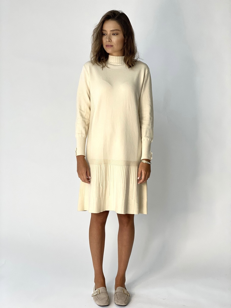 Платье, UNO, 977 (молочный)