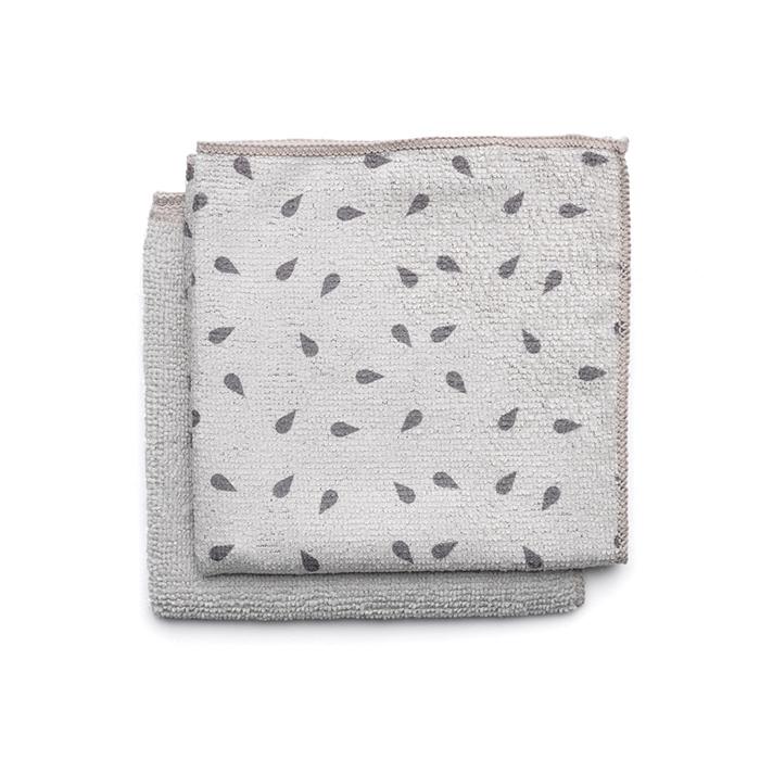 Набор чистящих салфеток из микрофибры (30x30 см), 2 шт., арт. 117688 - фото 1