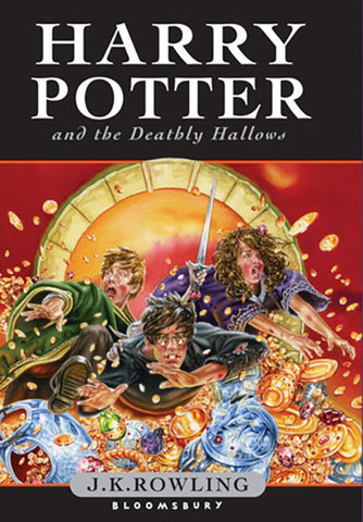 9780747591054 - Harry Potter and the Deathly Hallows HB Children's edition