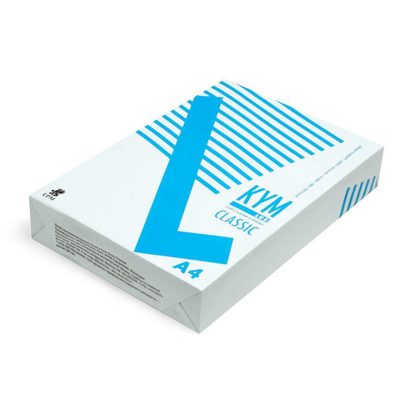Бумага для офисной техники KYM Lux Classic (А4, марка C, 80 г/кв.м, 500 листов)