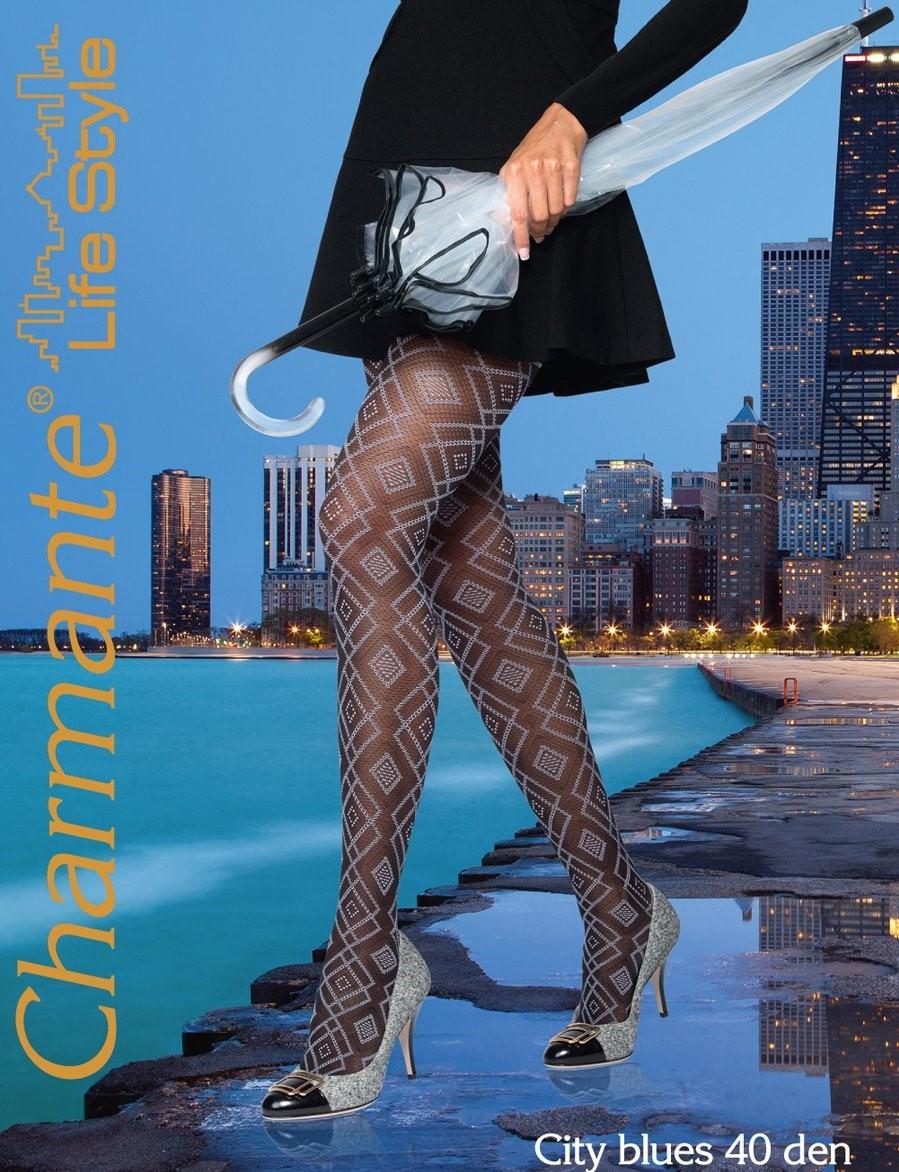 Charmante CITY BLUES 40 колготки женские