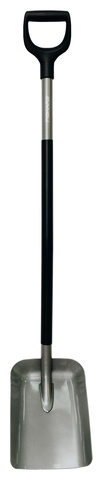 Лопата Fiskars Solid Prof совковая для земляных работ, 129х23 см