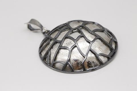 Подвеска на шею из серебра без камней 7/19 КН-32-2