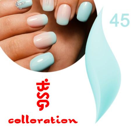 BSG Colloration, №45 Ярко небесно голубой цвет купить за 650руб