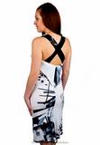 Платье из вискозы Save The Queen