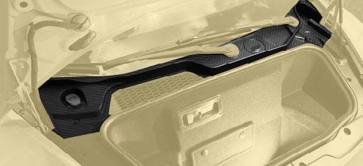 Карбоновая панель лобового стекла Mansory Style для Lamborghini Huracan