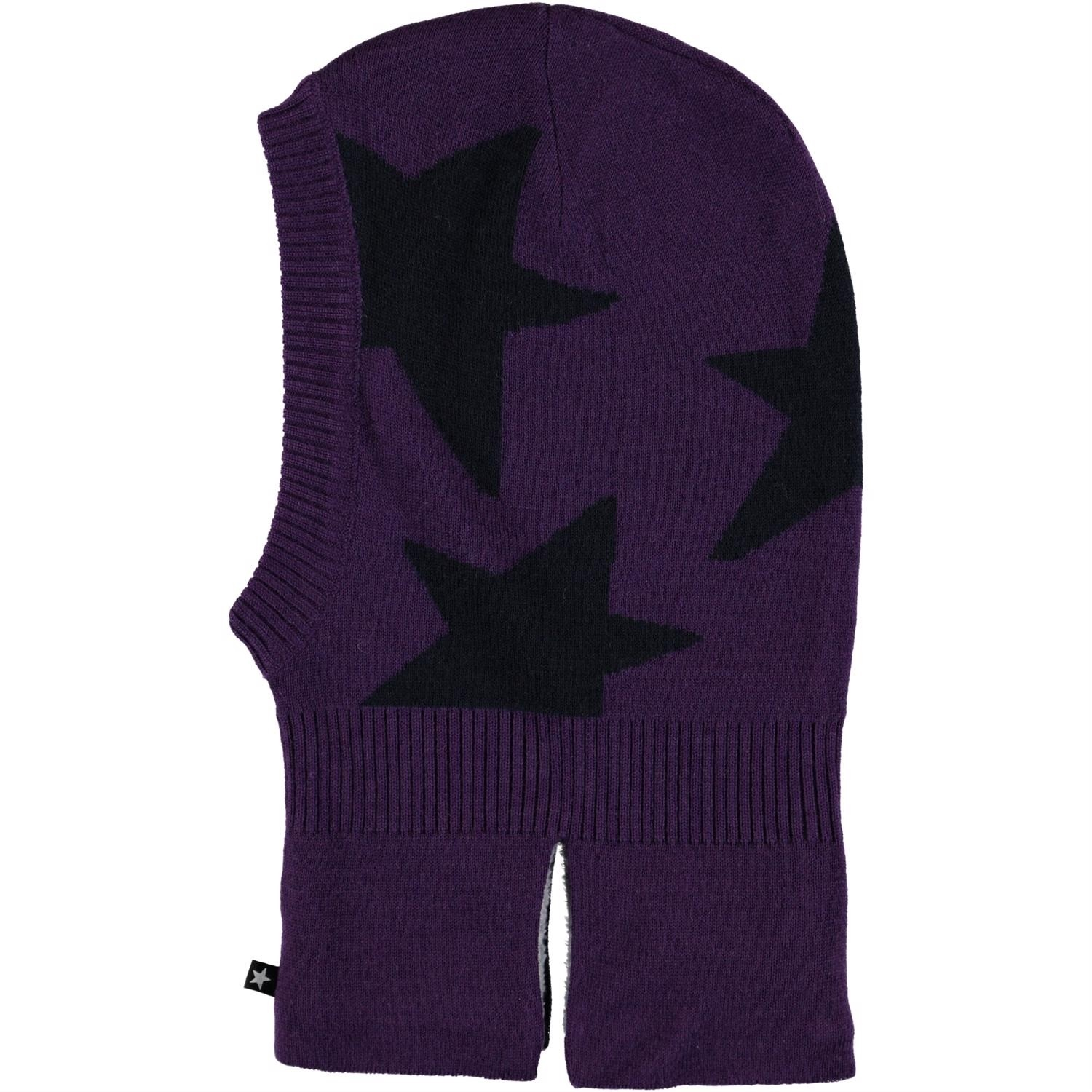 Шапка шлем Molo Snow Dark Purple