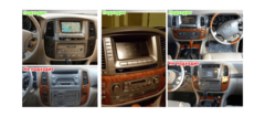 Магнитола CB3219PX3 для Lexus LX470 (2003-2007) стильTesla