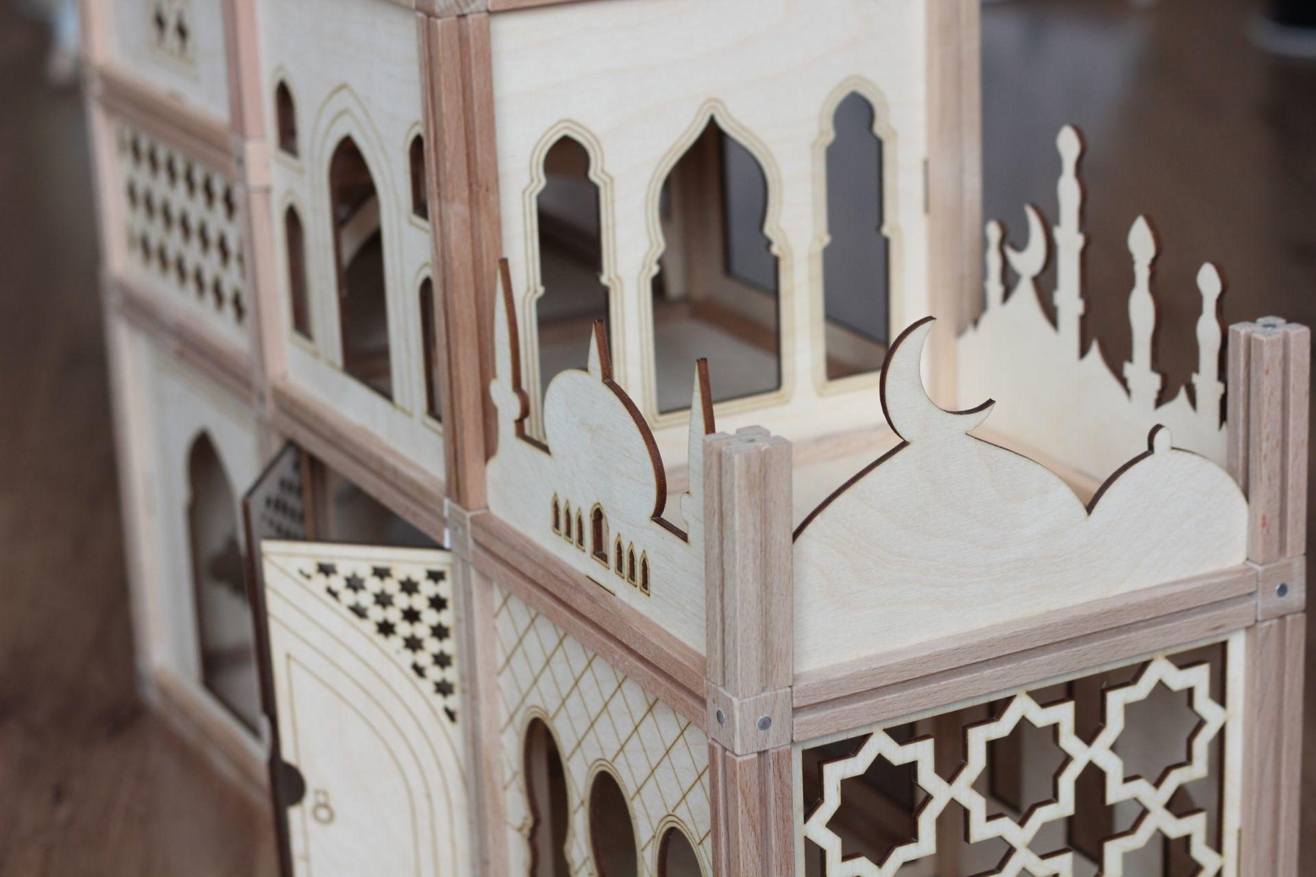 Woodjo Arabic 130 деталей