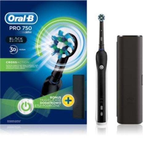 Электрическая зубная щетка Oral-B Pro 750 CrossAction